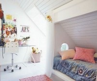 Teenage Girl's Attic Room