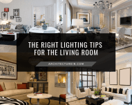 The Right Lighting Tips For The Living Room Featured
