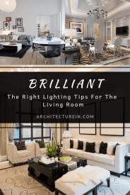 The Right Lighting Tips For The Living Room
