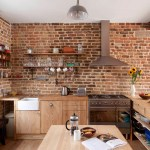 Traditional Touch Elegant Brown Minimalist Kitchen Decorating Ideas