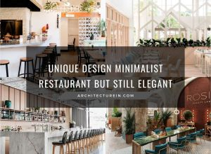 Unique Design Minimalist Restaurant But Still Elegant
