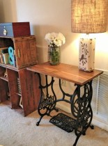 Vintage Table for Shabby Chic Style Minimalist Home Inspiration