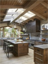 Wood Roof And Floore Rustic Home