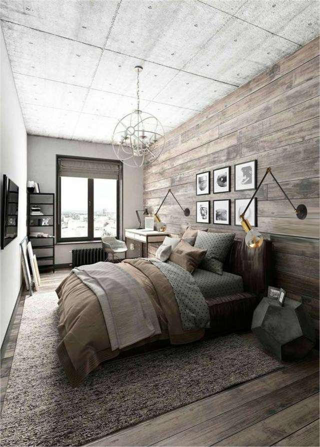 Wood Wall And Floor, Roof With Texture
