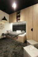 Bedroom Design Ideas For Boy With Wood Cabinet