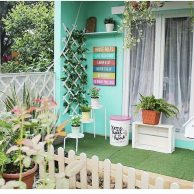 Park Area for Shabby Chic Style Minimalist Home Inspiration