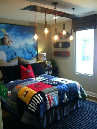 Room Decorating Ideas For Boy With Lighting