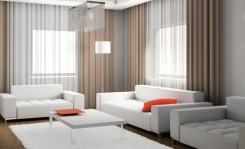 Transparent Curtain for The Right Lighting Tips for the Living Room
