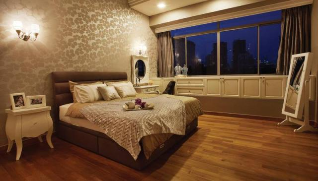 Contemporary Neoclassical for Amazing Contemporary Bedroom Inspiration