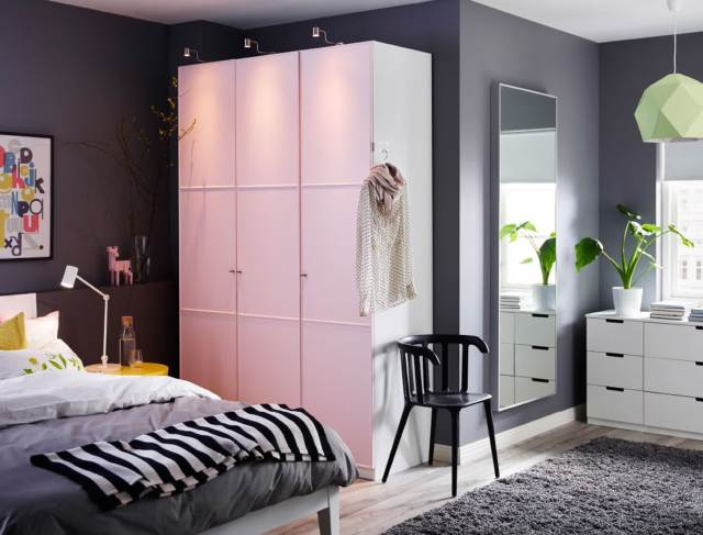 Mini Furniture for Minimalist Bedroom Design for Newlyweds