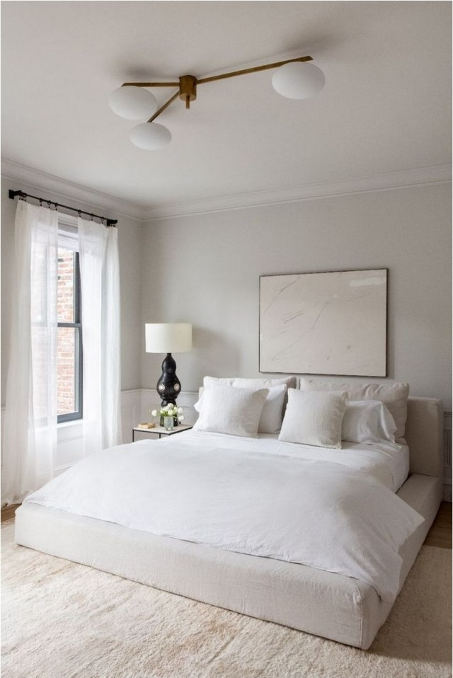 Minimalist Bedroom With Minimalist Furniture