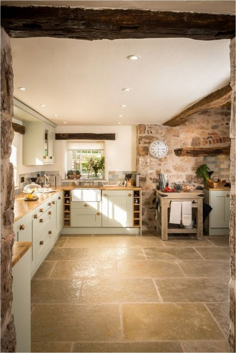 Exposed Bricks for Kitchen Design Ideas with Amazing Wall Decorations