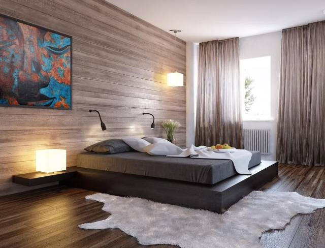 Romantic Wood Elements for The Amazing Modern Minimalist Home Design