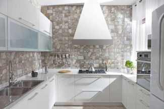Stone Carving for Kitchen Design Ideas with Amazing Wall Decorations