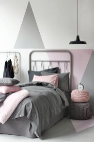 Wall Color Exploration for Grey Bedroom