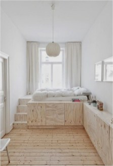 White And Wood Child Berdroom Apartment