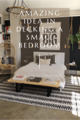 Amazing Idea In Decking A Small Bedroom