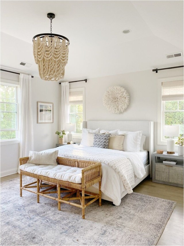 Appropriate Lighting For Artistic Elements In Bedroom Decorations