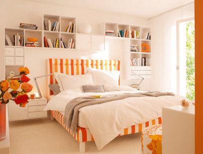 Bed for Amazing Idea in Decking a Small Bedroom