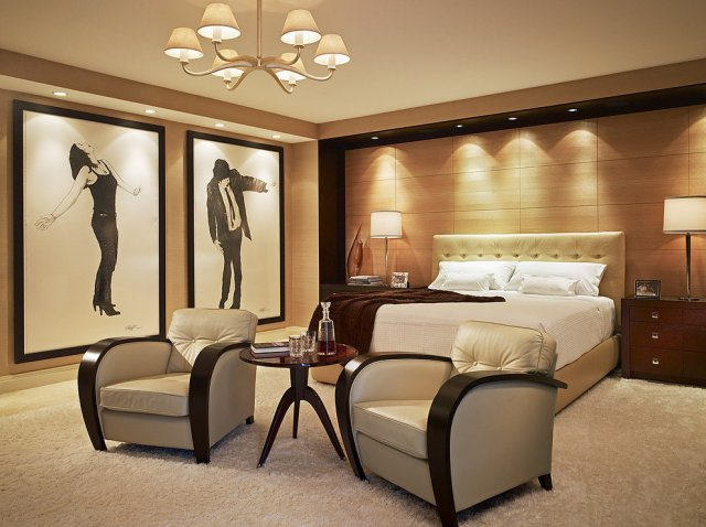 Contemporary Design for Artistic Elements in Bedroom Decorations