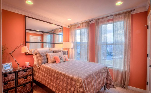Feminine for Tips on Applying Orange Color to Your Bedroom