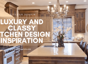 Luxury And Classy Kitchen Design Inspiration