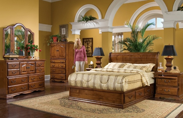 More Worth for Wooden Furniture in Your Bedroom