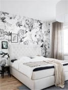 Small Bedroom With Floral Wallpaper Ideas