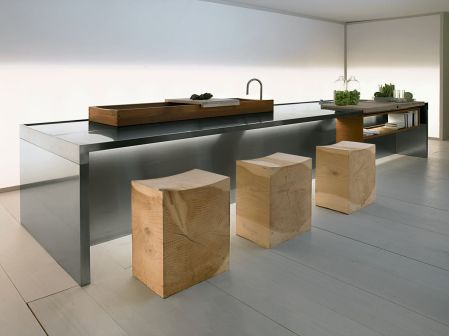 The Cedar Wooden Chair for Modern Kitchen Inspiration with Unique Chair Design