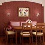 Main Materials for Dining Room Interior with Traditional Touch of Wood