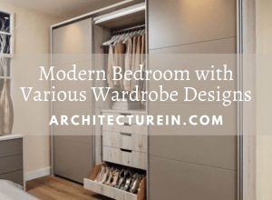 Modern Bedroom With Wardrobe Designs