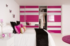 Pink and White for Various Wardrobe Designs