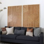 Living Room Wood Art Decorations