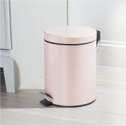 Pink Small Trash Can Bedroom Decorations