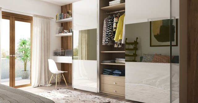 Sliding Doorfor Wardrobe Designs that Appropriate to Your Bedroom Theme
