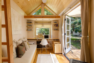 Thin Curtains for Wooden House Decor Inspiration You Must Know