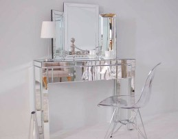 Filled with a Mirror for a Charming Minimalist Dresser