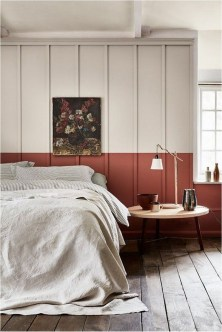 Red And White Bedroom Color