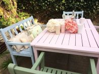 Feminine Pastel Colors for Amazing Garden Decorations