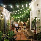 Hanging Light Garden Ideas