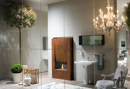 Luxury for Stunning Lighting in Modern Minimalist Bathroom