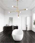 Metal Pendant Light Bathroom Ideas