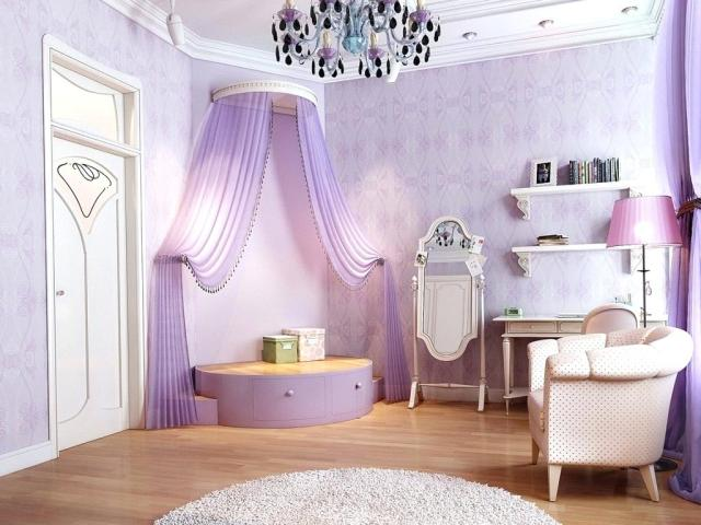 Small Corner for Girls' Bedroom with Fairytale Theme