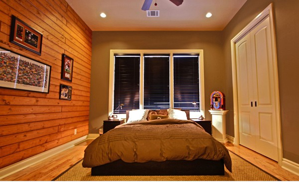 The Right Light Source for Men's Bedroom Design with Contemporary Masculine Style