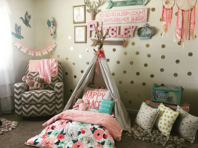 Unique for Girls' Bedroom with Fairytale Theme