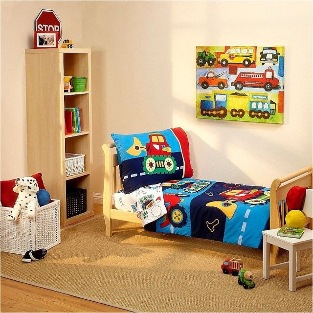 2 Cars Theme Boys Bedrooms