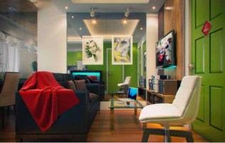 Comfortable Room for Tips and Tricks to Decorate a Narrow Living Room