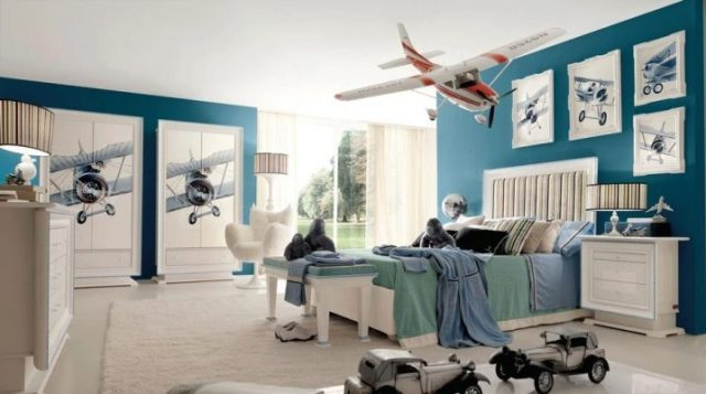 Flights for Various Unique Designs for Boys' Bedrooms