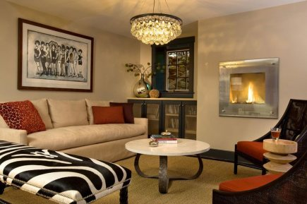 Hanging Lamp for Tips and Tricks to Decorate a Narrow Living Room