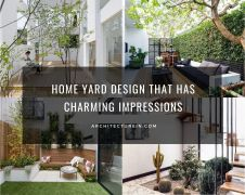 Home Yard Design That Has Charming Impressions